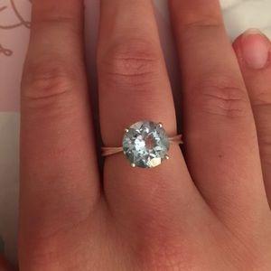 Gorgeous Blue Topaz ring